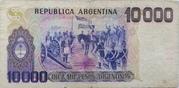 10,000 Pesos Argentinos – revers