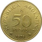 50 pesos (Conquête de la Patagonie) -  avers