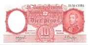 10 Pesos – avers