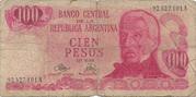 100 Pesos (Ley 18,188) – avers