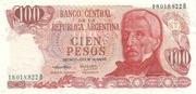 100 Pesos Ley – avers