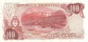100 Pesos Ley – revers
