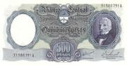 500 Pesos – avers