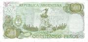 500 Pesos – revers