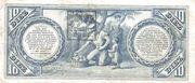 10 Pesos (Banco Nacional – revers
