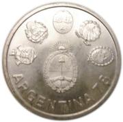 2000 pesos (Coupe du monde football) – avers