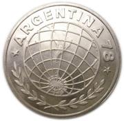 3000 pesos (Coupe du monde de football Argentine 1978) – avers