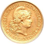 2½ pesos / ½ argentino – revers