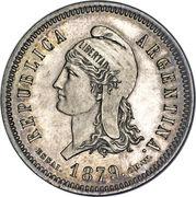 40 centavos fuertes – avers