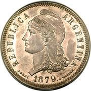 80 centavos fuertes – avers