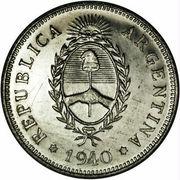 50 centavos (Essai) – avers