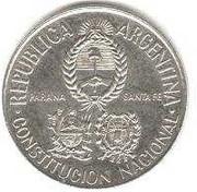 2 pesos (Convention de la Constitution) -  avers