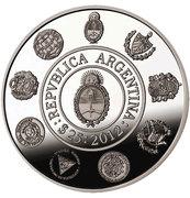 25 Pesos (Ibero-American Series - 20th Anniversary of the Ibero-American Series) -  revers