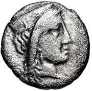 Diobol (Argos) – avers