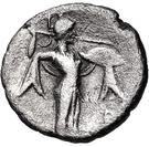 Diobol (Argos) – revers