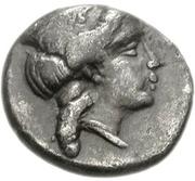 Triobol (Argos) – avers