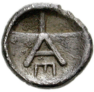 Hemiobol (Argos) – revers