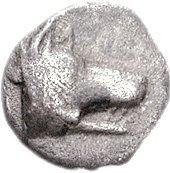 Obol (Argos) – avers