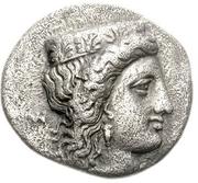 Drachm (Argos) – avers