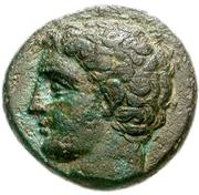 Bronze Æ18 (Argos Amphilochikon) – avers