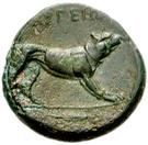 Bronze Æ18 (Argos Amphilochikon) – revers