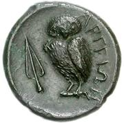 Bronze Æ14 (Argos Amphilochikon) – revers