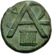 Trichalkon (Megalopolis) – revers