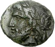 Trichalkon (Megalopolis) – avers