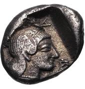 Hemidrachm (Kleitor) – revers
