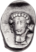 Hemidrachm (Tegea) – revers