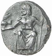 Hemidrachm (Kleitor; Arkadian League) – avers
