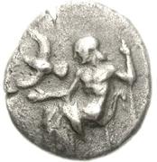 Hemidrachm (Mantineia) – avers
