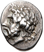 Hemidrachm (Megalopolis) – avers