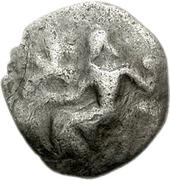 Obol (Mantineia) – avers