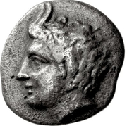 Obol (Megalopolis) – avers