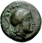 Bronze Æ17 (Arkesine) – avers