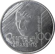 100 drams (Yogishe Charents) – revers