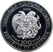 100 drams (Coupe du monde de football 2006 en Allemagne) – avers