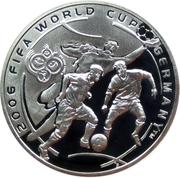 100 drams (Coupe du monde de football 2006 en Allemagne) – revers