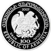 100 drams (Canard souchet) – avers