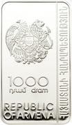 1000 Dram (Etchmiadzin Monastery) -  avers