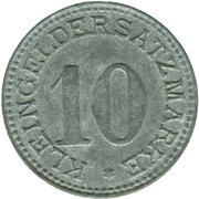 10 pfennig - Arnsberg – revers