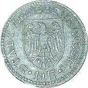 50 pfennig - Arnsberg – avers
