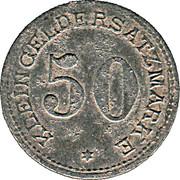 50 pfennig - Arnsberg – revers