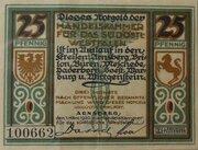 25 Pfennig Arnsberg, Handelskammer – avers