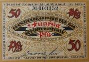 50 Pfennig Arnsbach, Handelskammer – avers