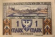 1 Mark (Sparkasse) – revers