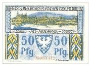 50 Pfennig (Sparkasse) – revers