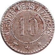 10 pfennig - Arnstadt – revers