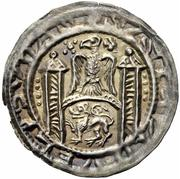 1 Brakteat - Walter II. – avers